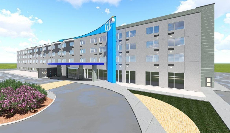 Brazilian developer files plan for new bw glo hotel on for Best western lee s motor inn