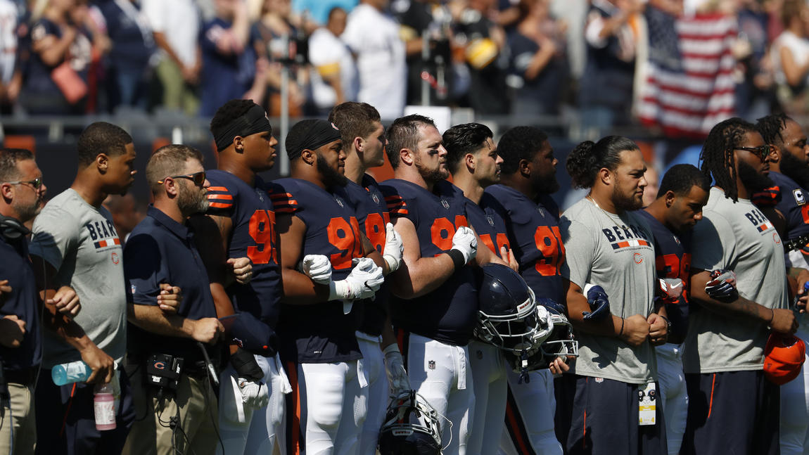 From The Chicago Tribune: Column: Why do whites oppose the NFL protests?