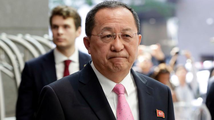 North Korean Foreign Minister Ri Jong Ho (Associated Press)