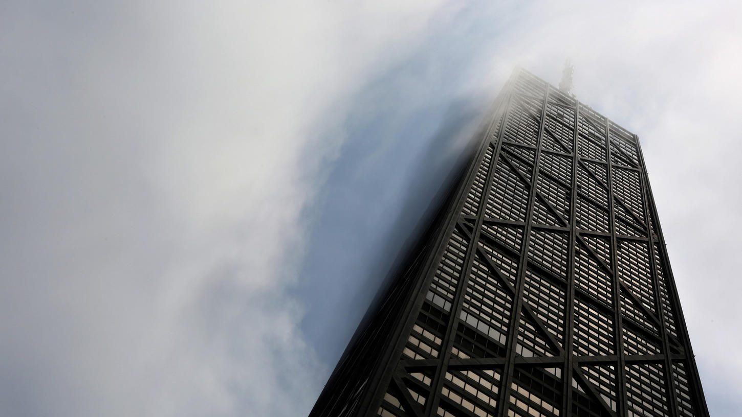 For sale: John Hancock Center offices, parking ? and name