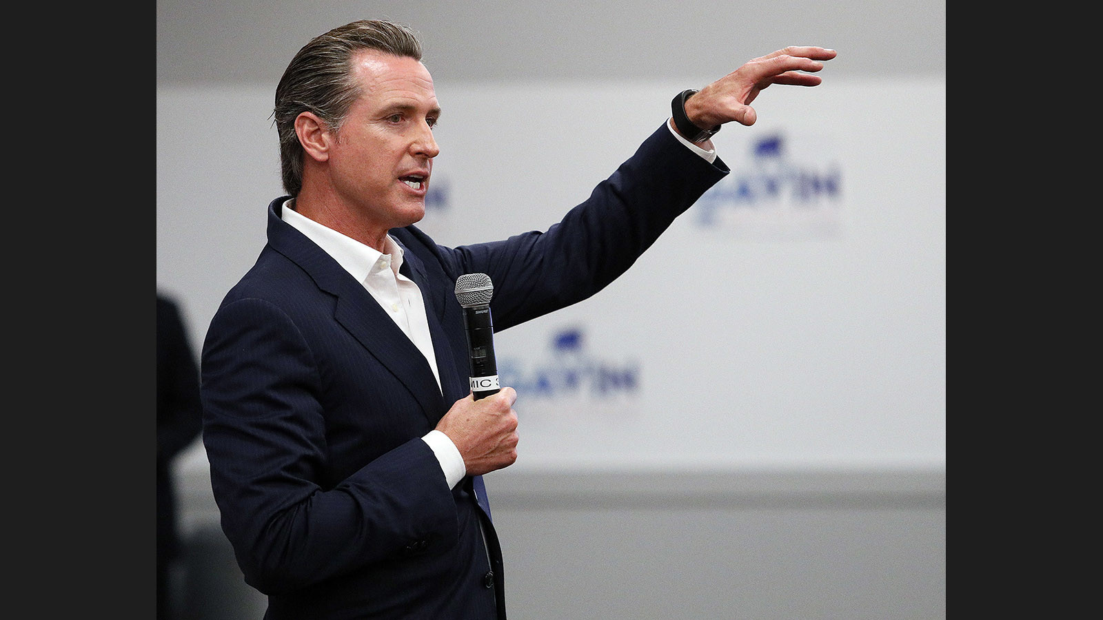 Lt. Gov. Gavin Newsom. (Tim Berger / Times Community News)