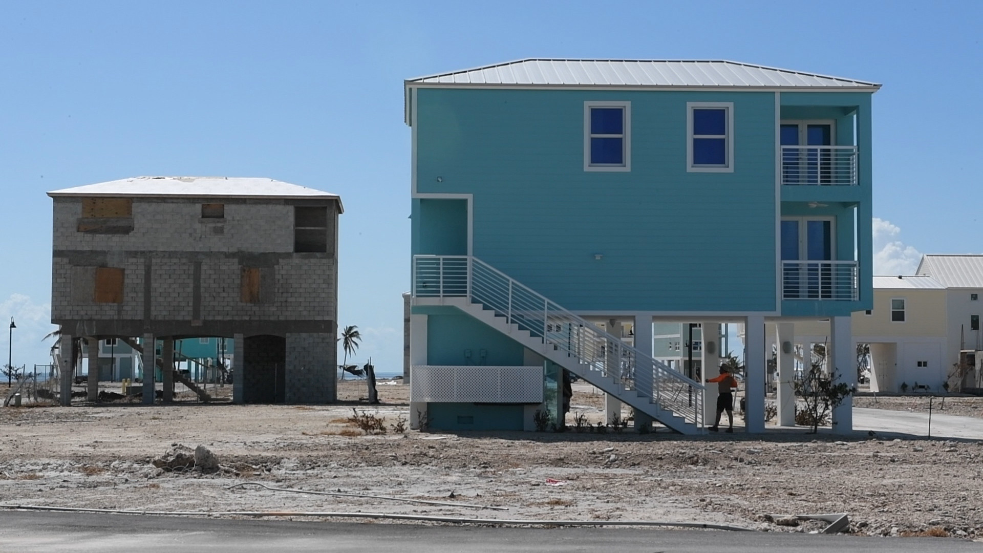 Irma 39 s destruction of trailers challenges keys 39 lifestyle for Concrete homes in florida