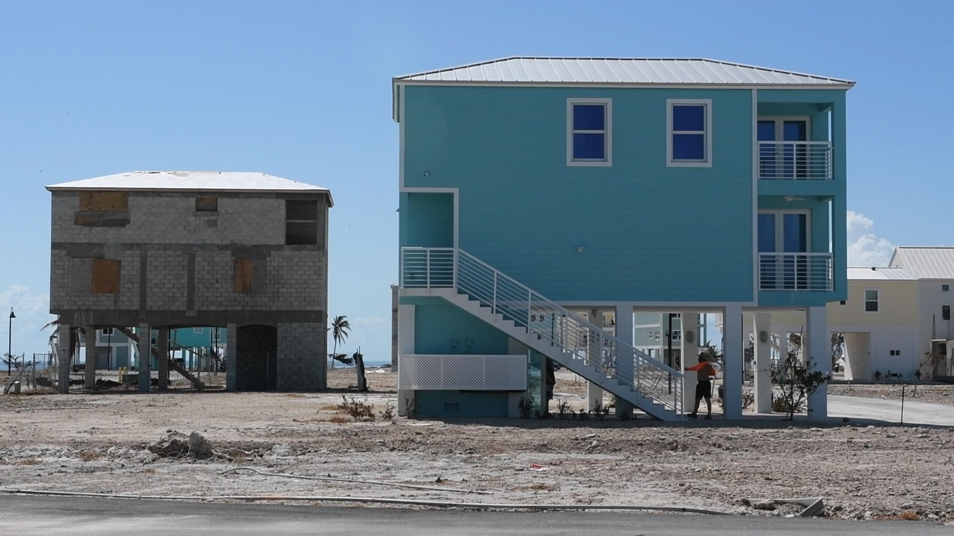 Irma 39 s destruction of trailers challenges keys 39 lifestyle for Concrete homes florida