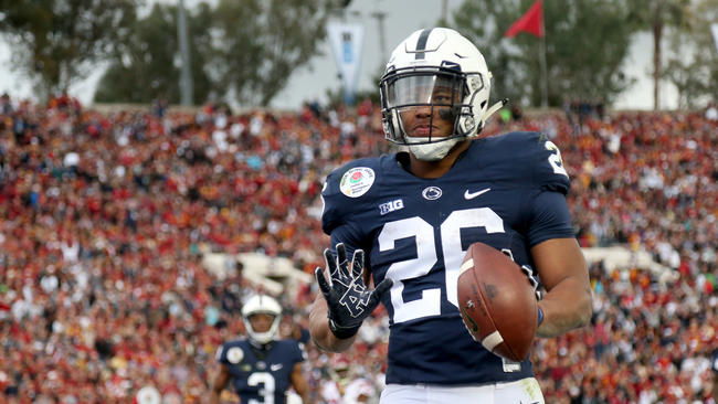 87c6dc6e9 Saquon Barkley s journey from Whitehall High School to Penn State to ...