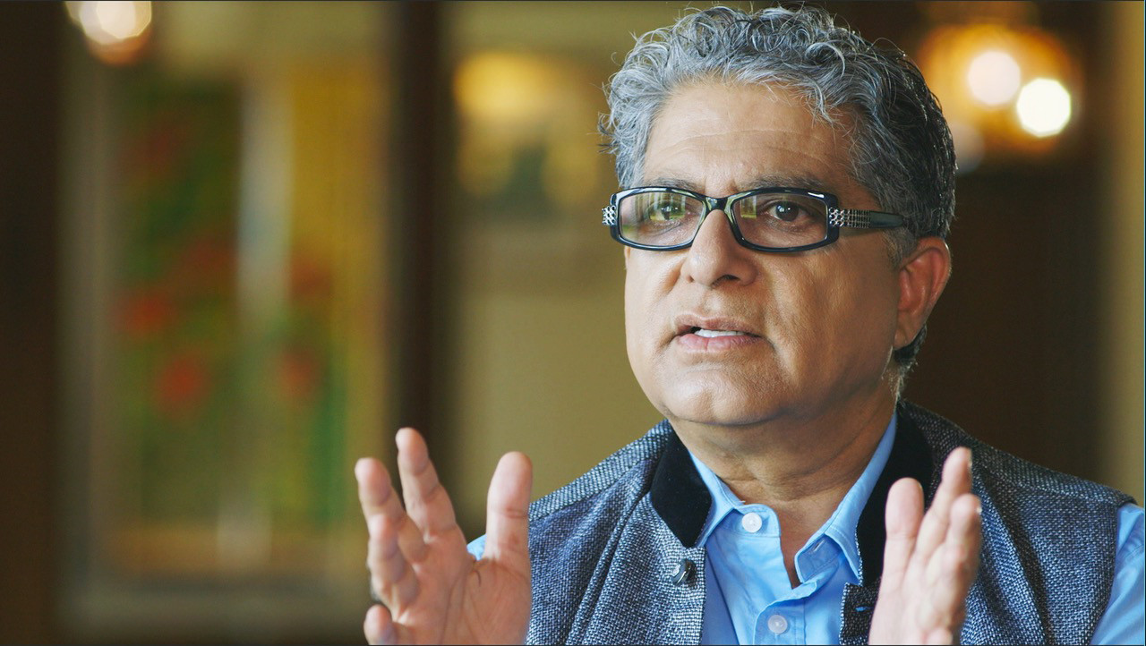 "Deepak Chopra is one of many experts interviewed about the mind-body connection in an upcoming documentary ""Heal."""