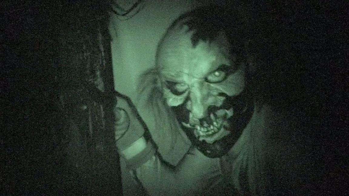 The Halloween Horror Nights scavenger hunt