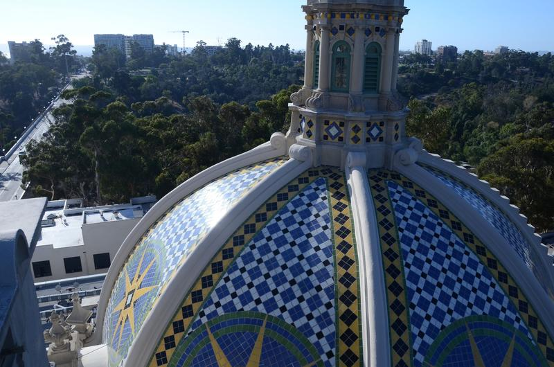 View from the California Tower (Christopher Reynolds / Los Angeles Times)