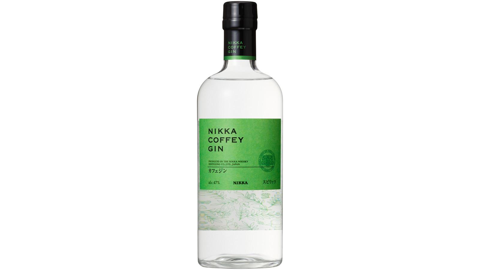 Nikka Coffey Gin.
