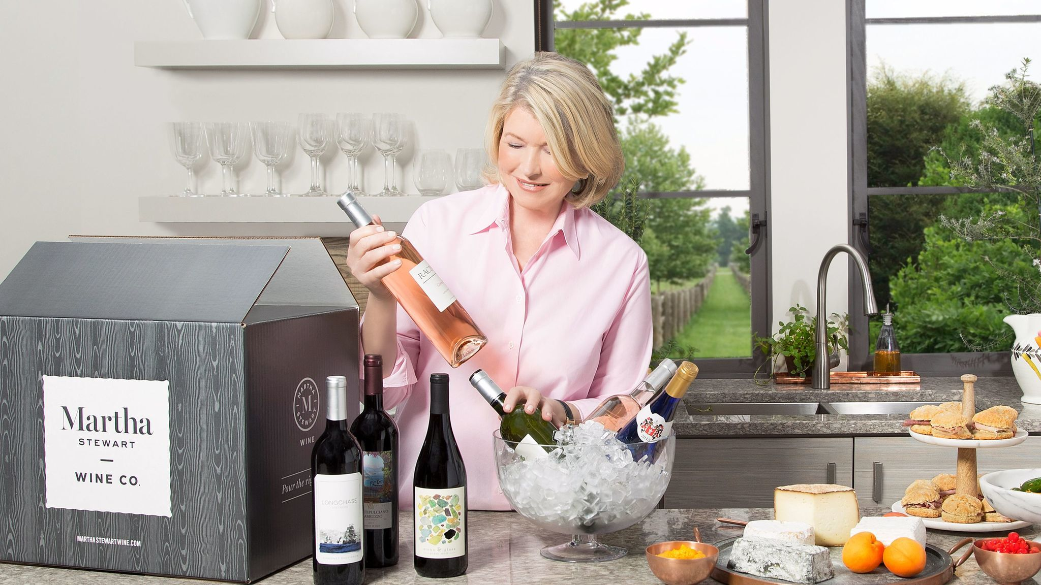 Martha Stewart has launched her own wine club.