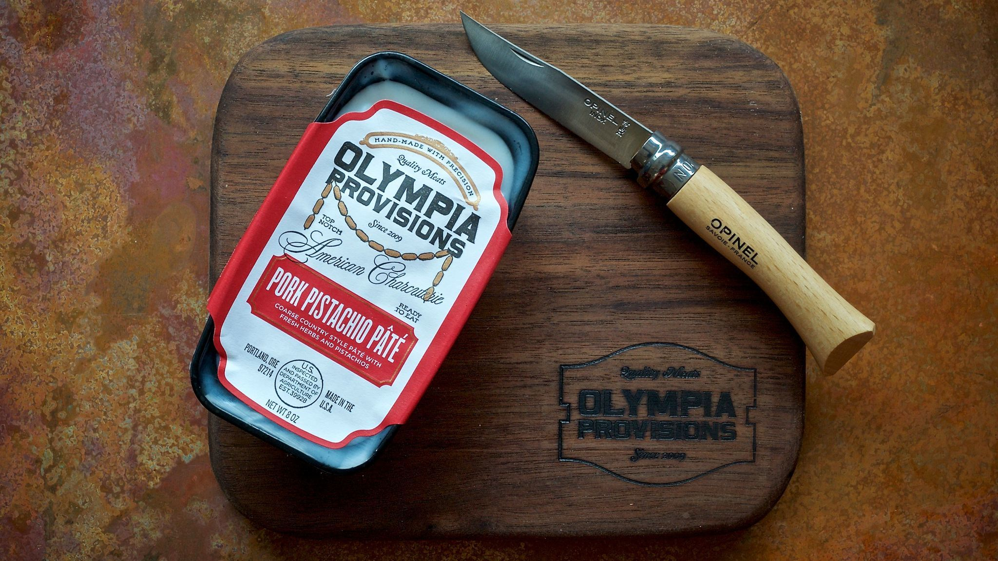 For the charcuterie lover, there's a pâté of the month club from Olympia Provisions.
