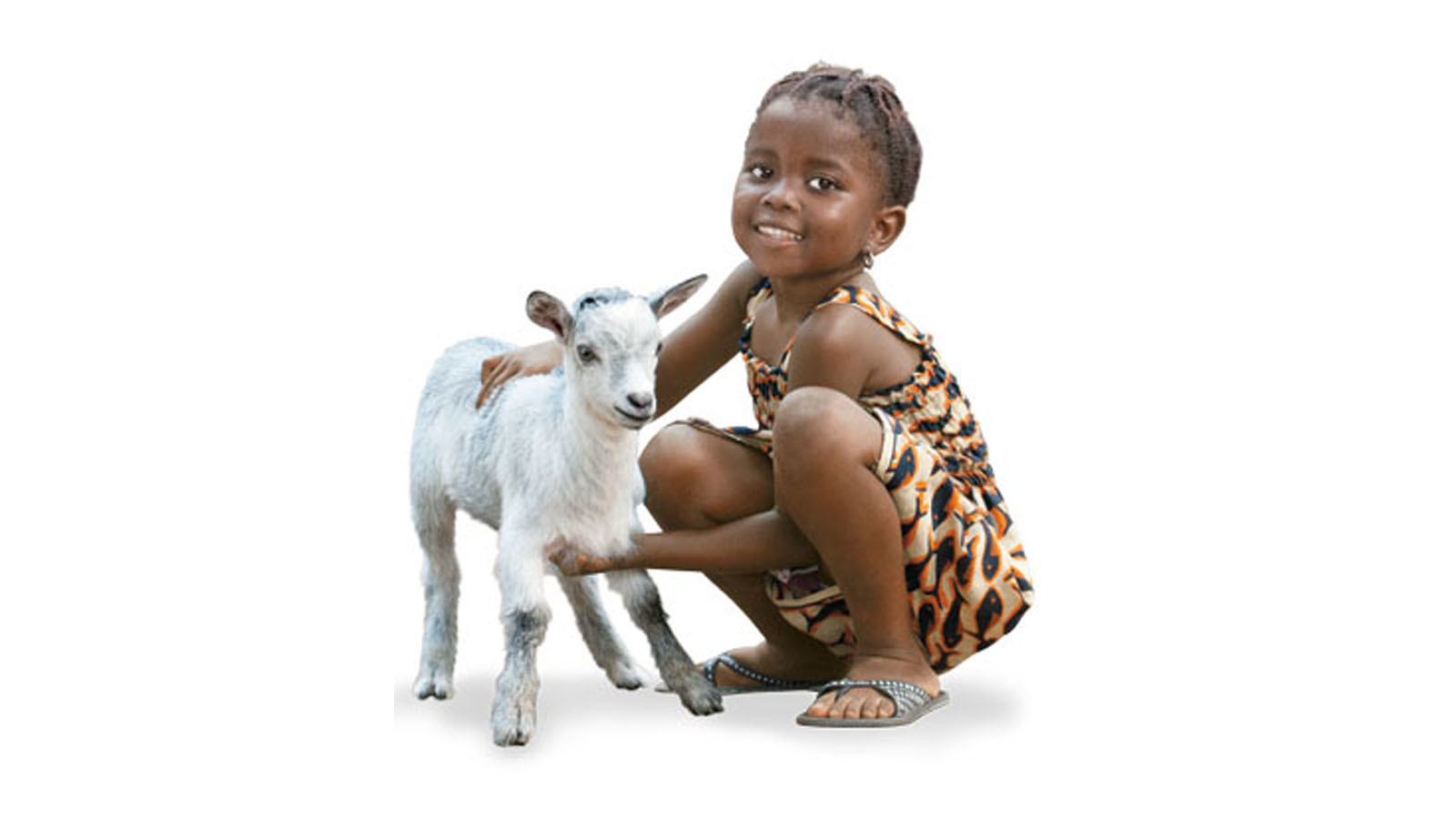 You can gift animals to families in need via Worldvision.