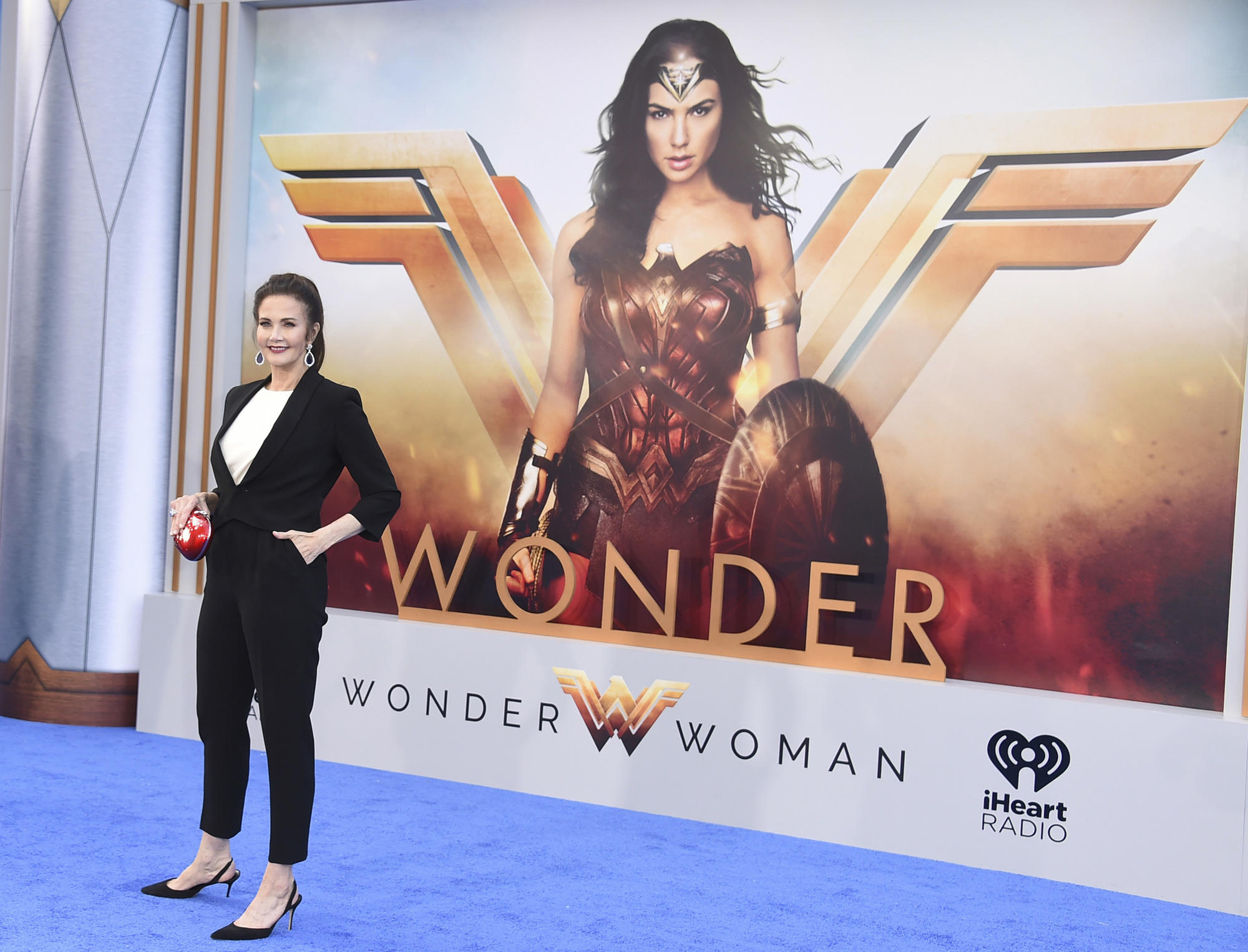 "Lynda Carter at the ""Wonder Woman"" premiere earlier this year. (Jordan Strauss / Invision/Associated Press)"