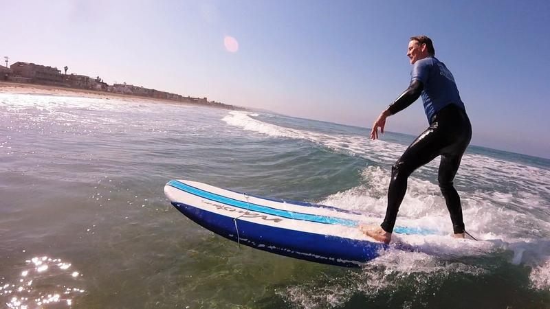 Rookie surfer, age 56. (Adam Weigand)