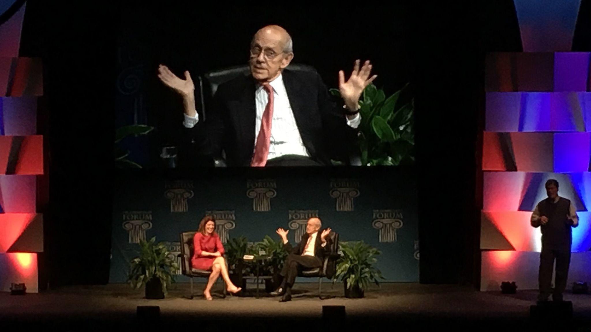 dan haar justice breyer offers measured views of trump era