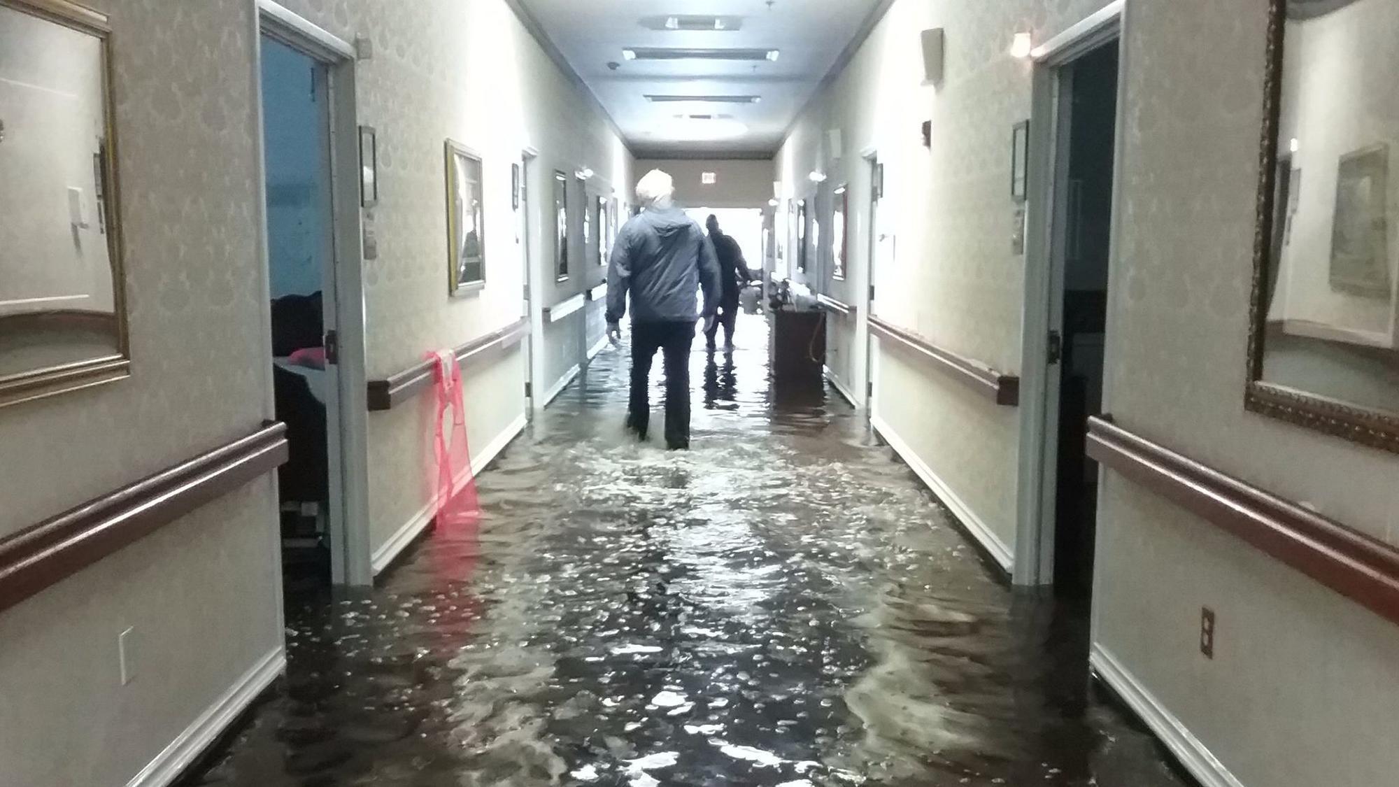 Nursing Home Evacuation In Port Arthur Tx