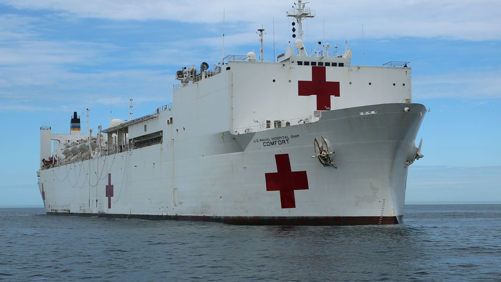 Hospital ship comfort heads to puerto rico daily press stopboris Image collections