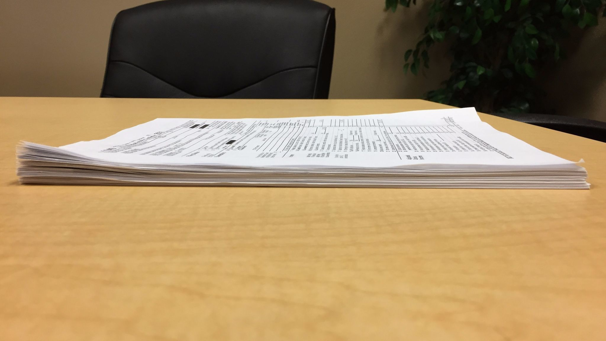 Six years of State Treasurer John Chiang's tax returns, from 2011 to 2016.