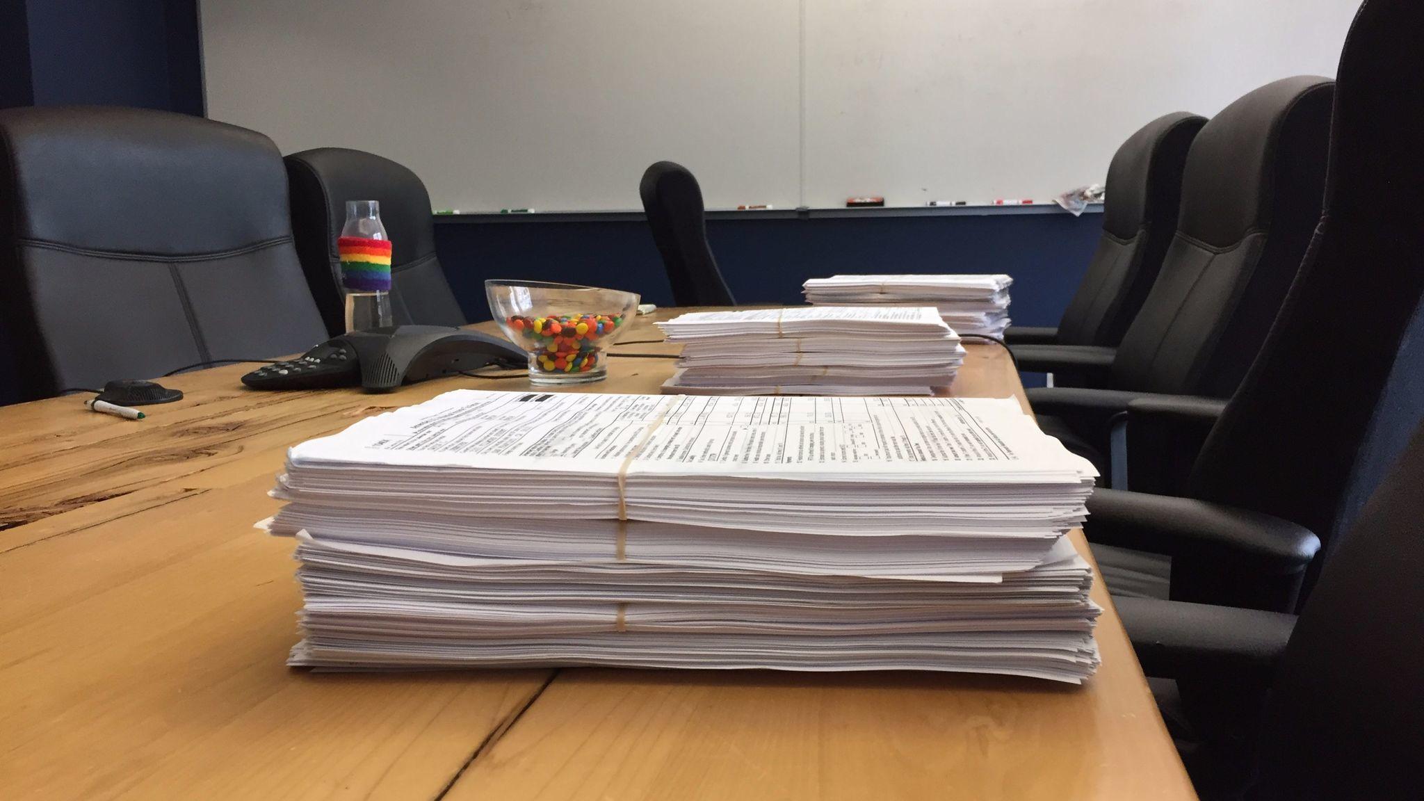 Six years of Lt. Gov. Gavin Newsom's tax returns, from 2010 to 2015.