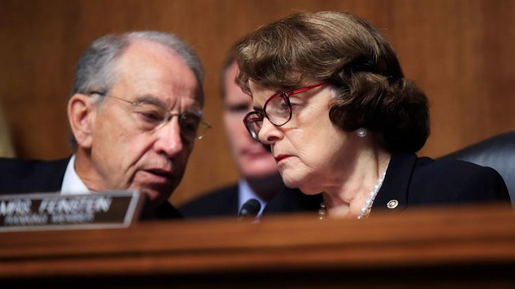 Trump rips 'Sneaky Dianne Feinstein' for releasing testimony about Russian Federation dossier