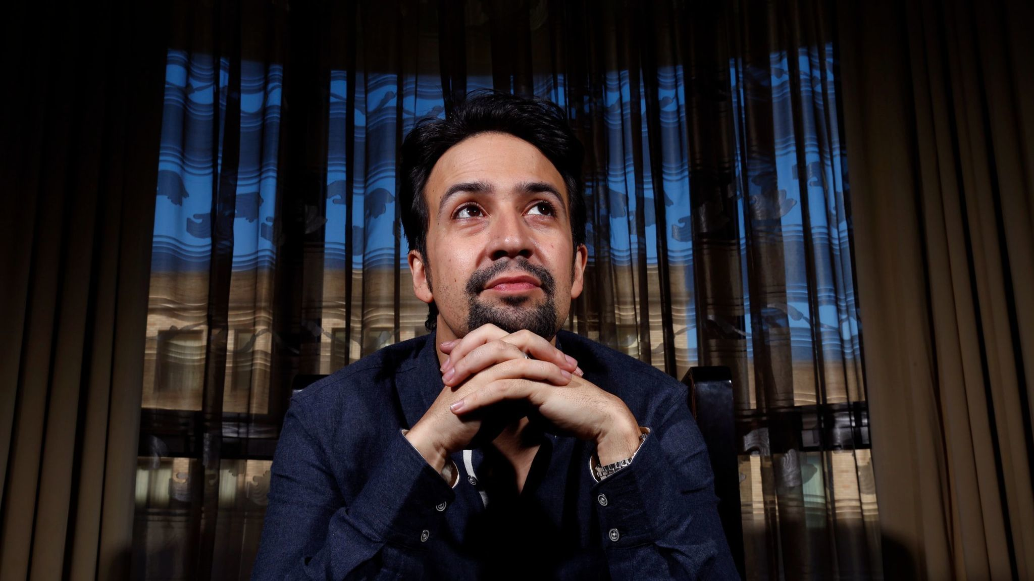 Tony and Pulitzer Prize winner Lin-Manuel Miranda takes aim at Donald Trump. (Genaro Molina / Los Angeles Times)