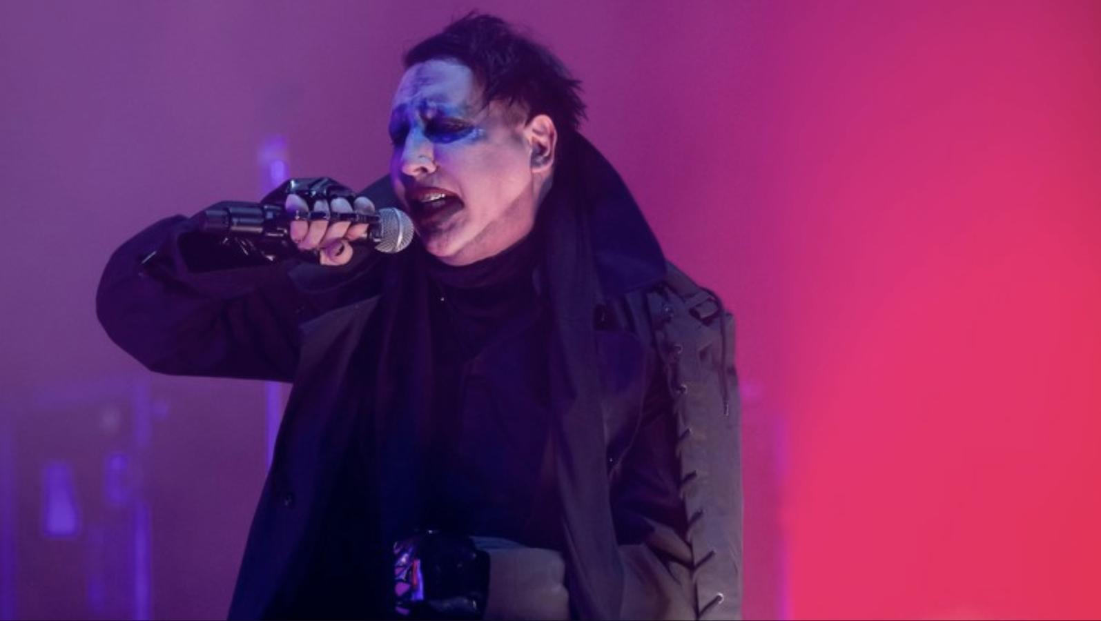 Resultado de imagen para Marilyn Manson terminó hospitalizado