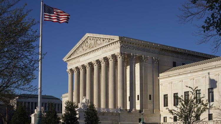 The Supreme Court opened its term Monday. (J. Scott Applewhite / Associated Press)