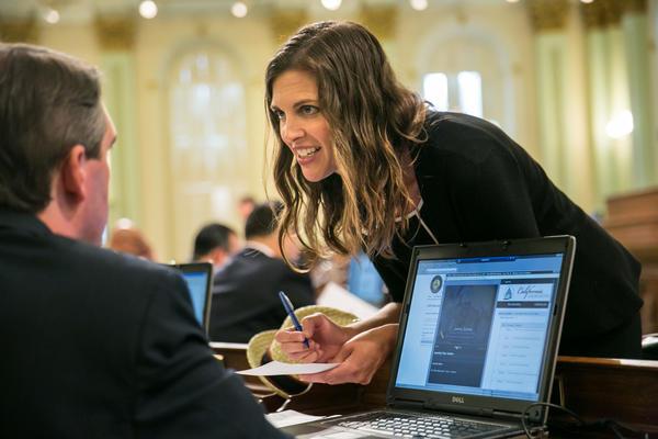 California GOP Vice Chair Kristin Olsen (Marcus Yam / Los Angeles Times)