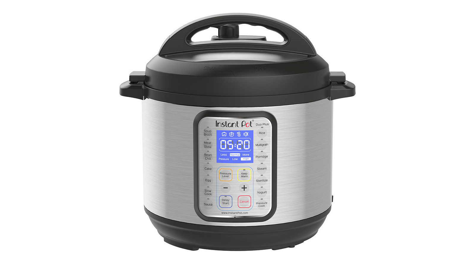 The Instant pot can be used as a pressure cooker that makes broth, stews, chili, cakes and more.
