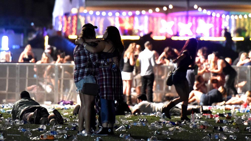 Victim of Las Vegas shooting was celebrating anniversary