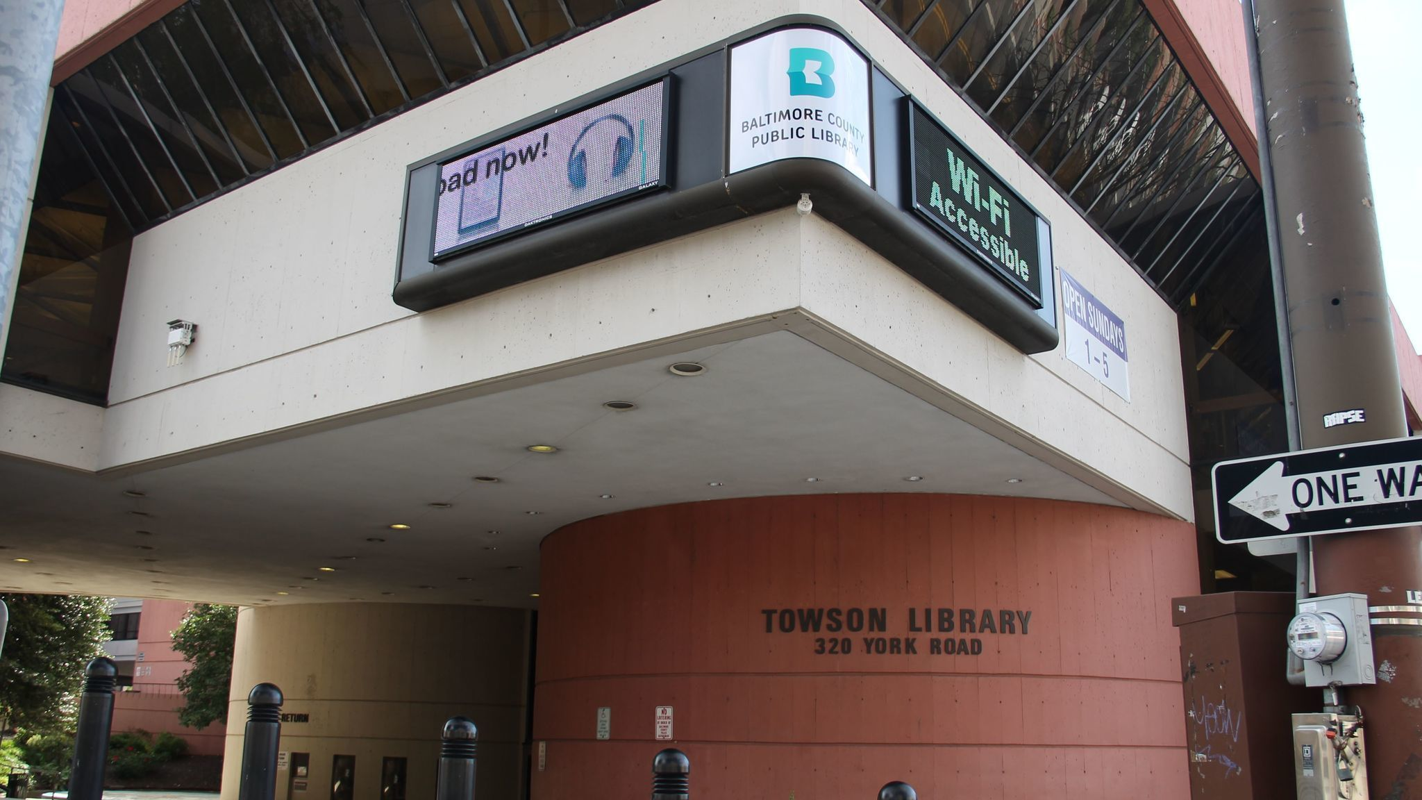 Towson Library Getting New Roof But Keeping Regular Hours