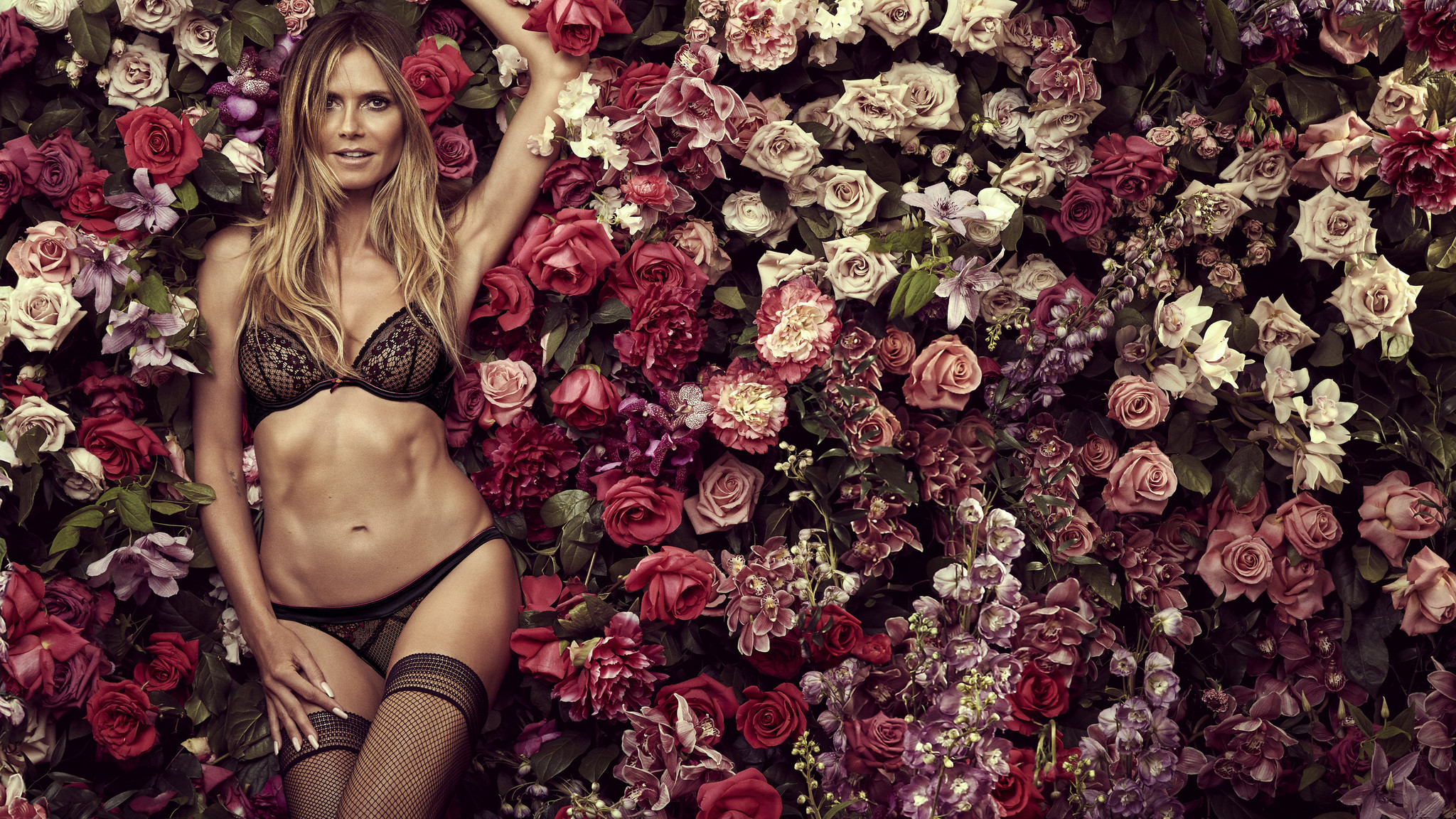 Heidi Klum says fit and lace are important factors for her intimate apparel line called Heidi Klum Intimates.