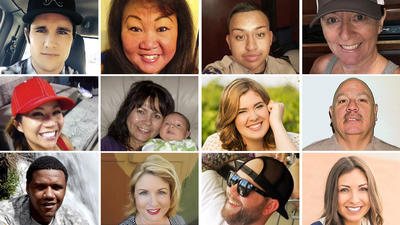 Las Vegas shooting victims: Portraits of the fallen