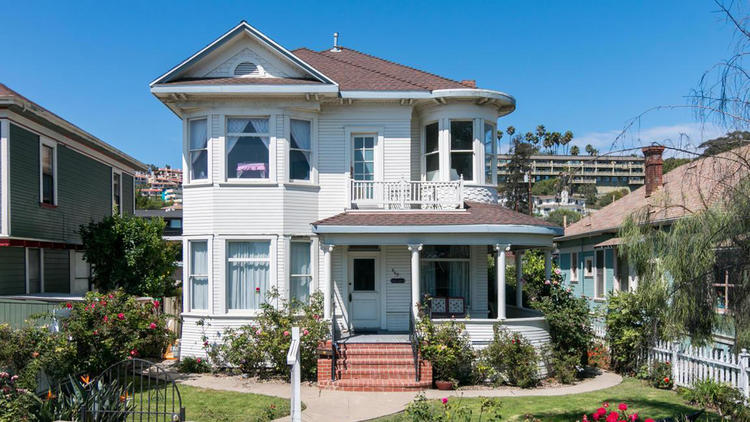 **943 E. Main St., Ventura, 93001** Dating to 1882, this classic Victorian harks back to a bygone er