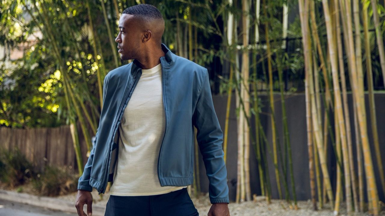 Los Angeles brand Olivers, known for its upscale athletic wear pieces, has branched into outerwear with a new multipurpose, three-season piece called the Gate jacket.
