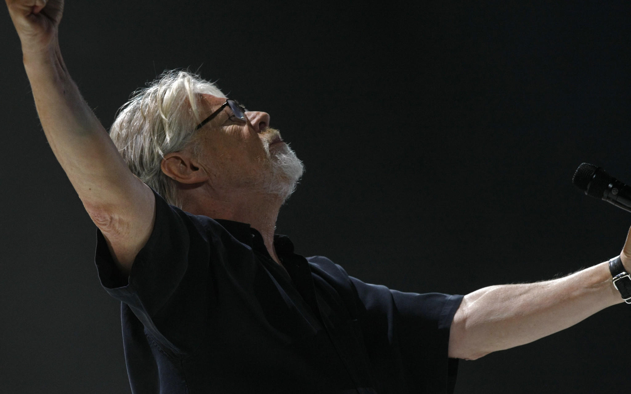 Rocker Bob Seger performs at a concert in San Diego in 2015. Seger announced Tuesday the postponement of 19 concert dates due to an unspecified medical concern. (Don Bartletti / Los Angeles Times)