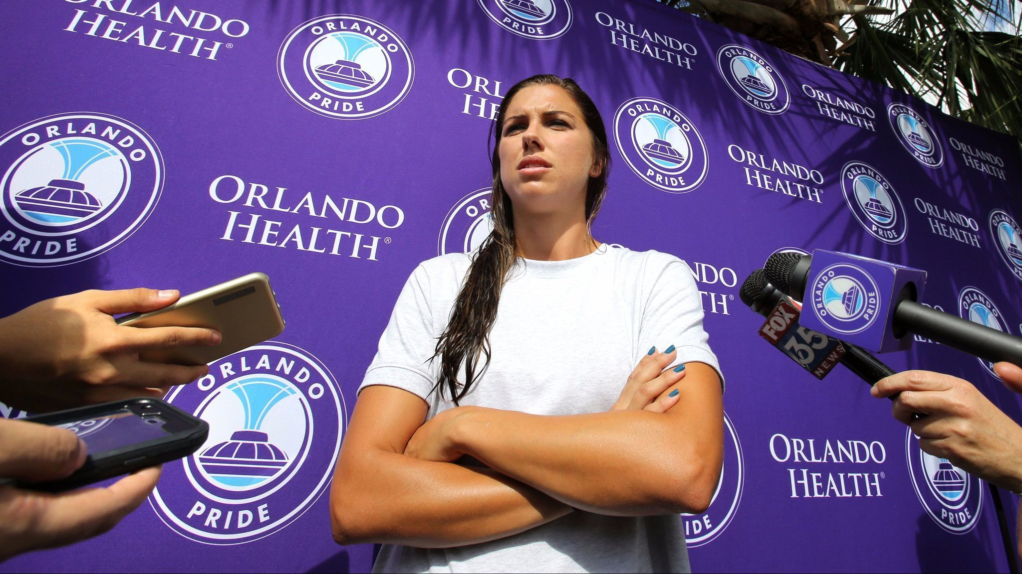 Orlando City Soccer Club S Alex Morgan Apologizes For