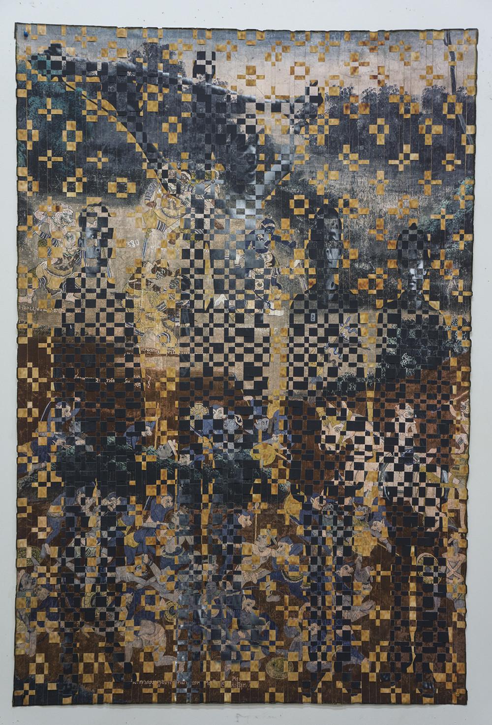 Dinh Q. Lê has a show of manipulated photographs at Shoshana Wayne Gallery.