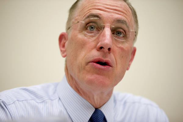 Rep. Tim Murphy speaks on Capitol Hill on March 26, 2015. (Andrew Harnik / Associated Press)