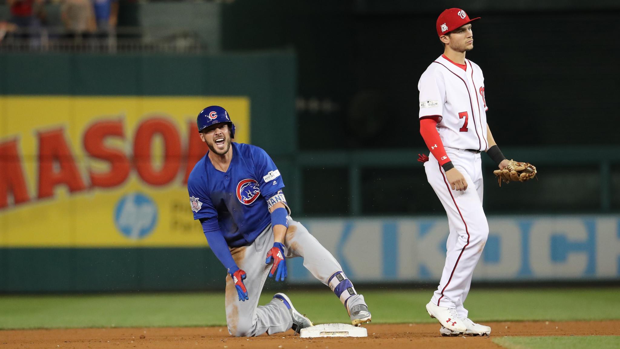 NLDS Game 1 Cubs Nationals Recap Social Media Reaction