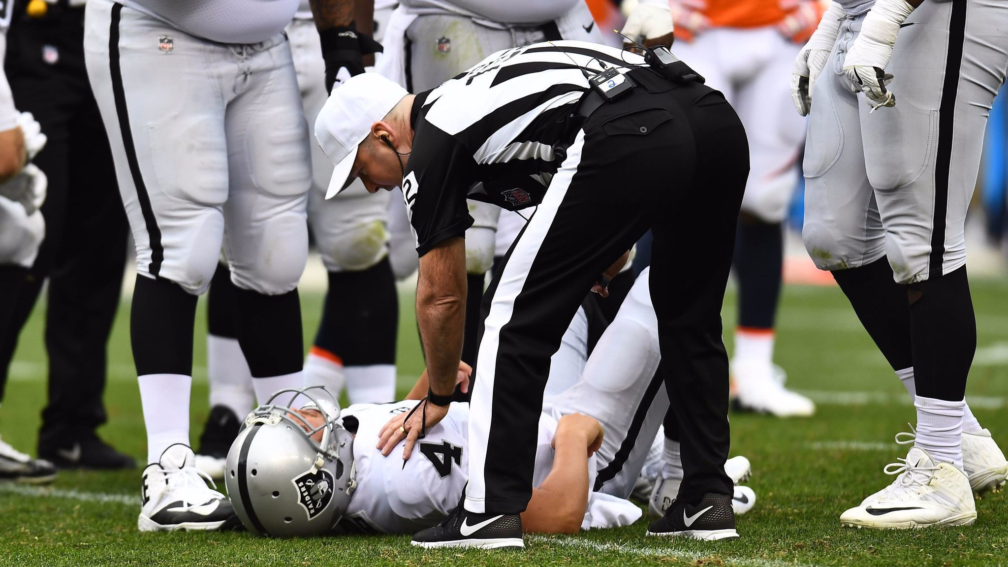 Derek Carr rollercoaster will likely e to rest Sunday The San
