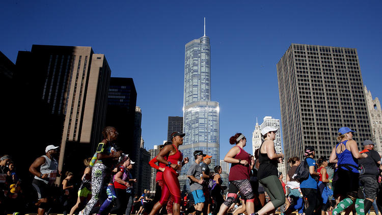 The 40th anniversary of the Bank of America Chicago Marathon