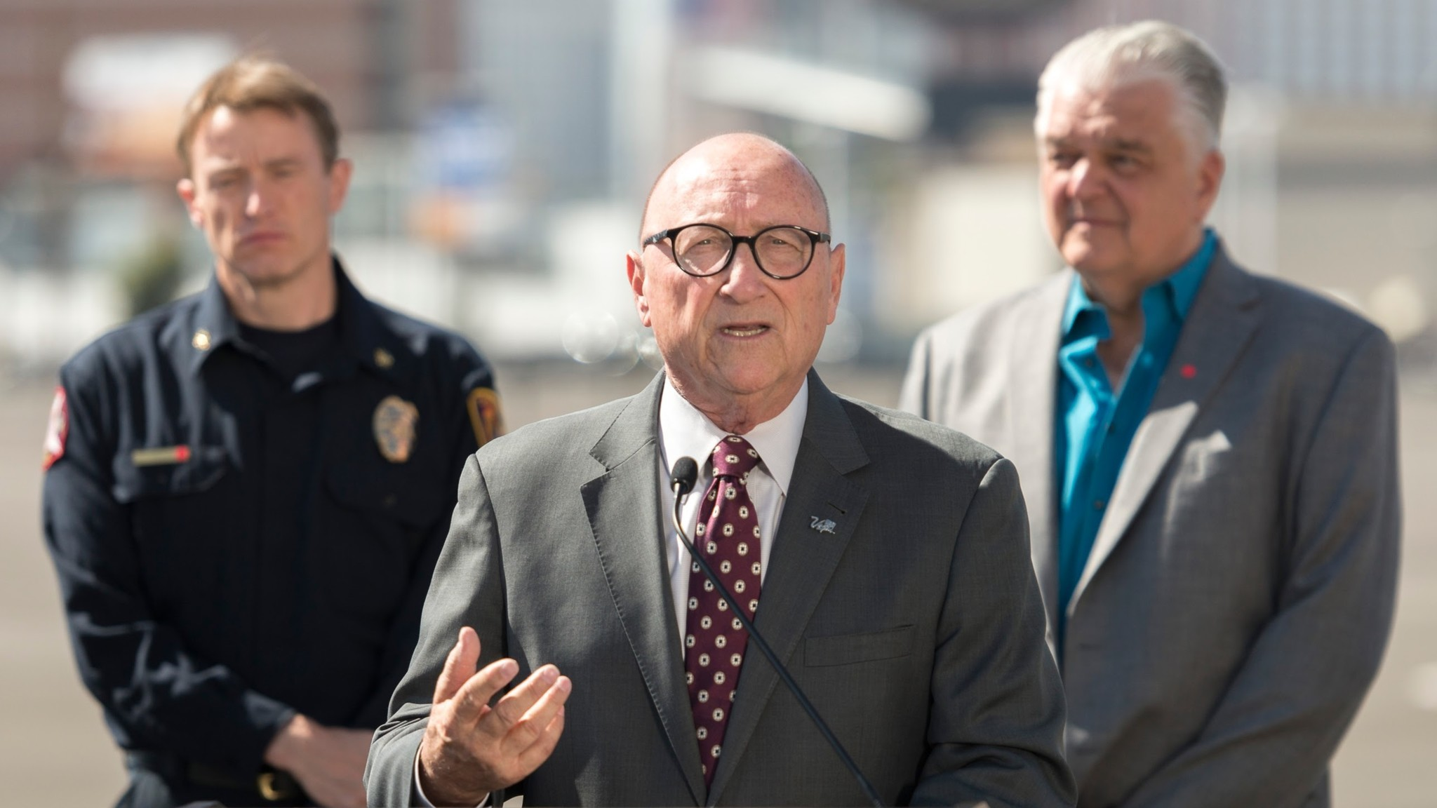 Rossi Ralenkotter, head of the Las Vegas Convention & Visitors Authority, told reporters last week that Las Vegas would suspend its marketing campaign for a while.