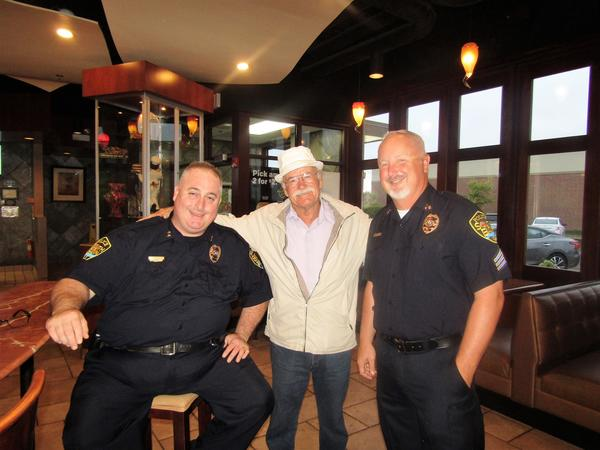 National Coffee With A Cop Event at the South Elgin, Redington Rd, McDonald's