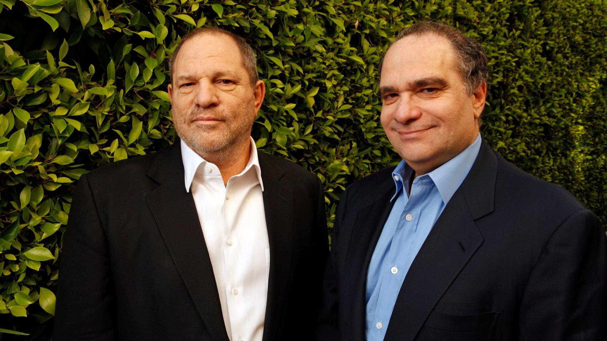 Harvey and Bob Weinstein (Al Seib / Los Angeles Times)