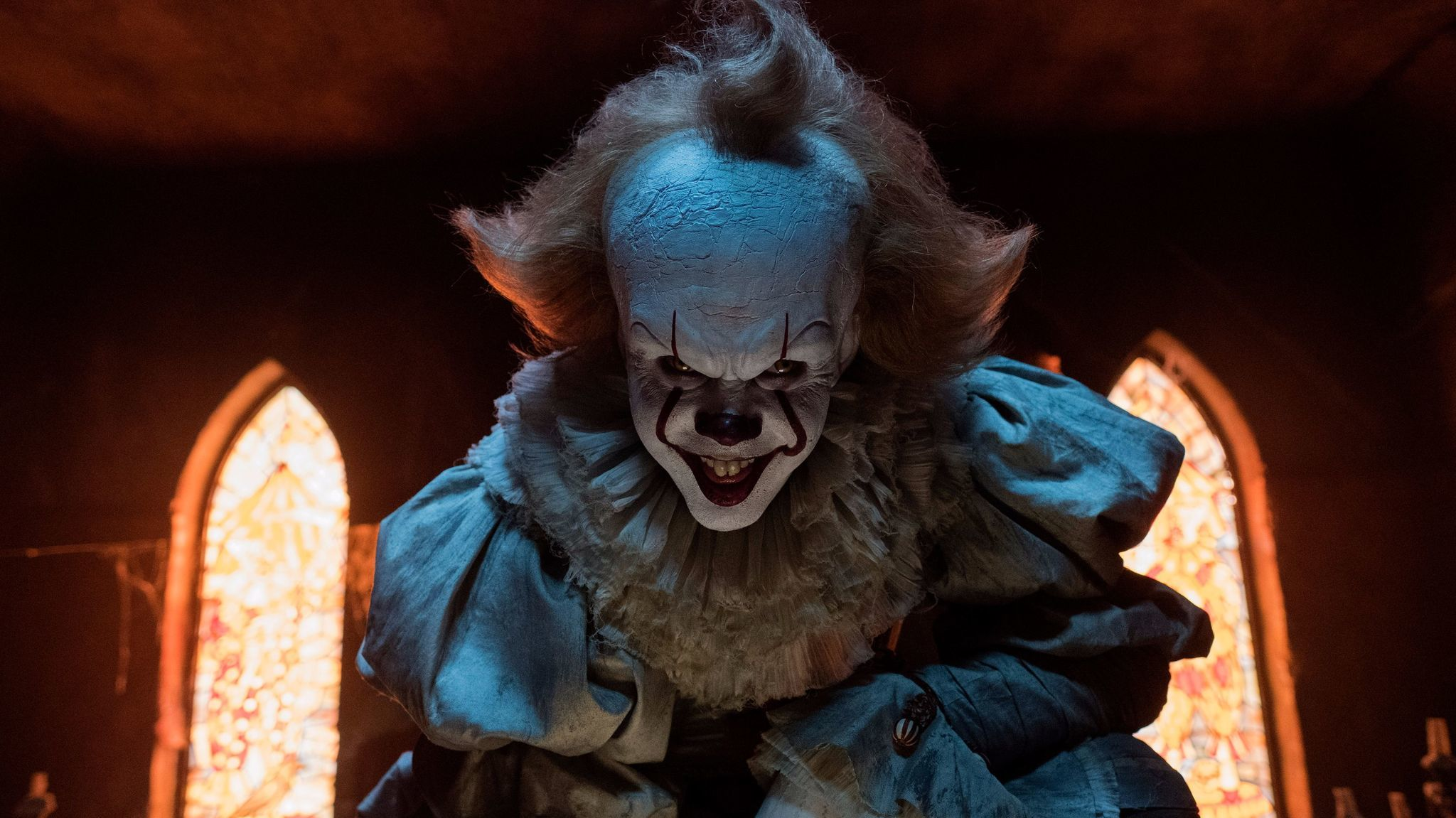"Bill Skarsgard in the movie ""It."" (Brooke Palmer/Warner Bros./New Line Cinema)"