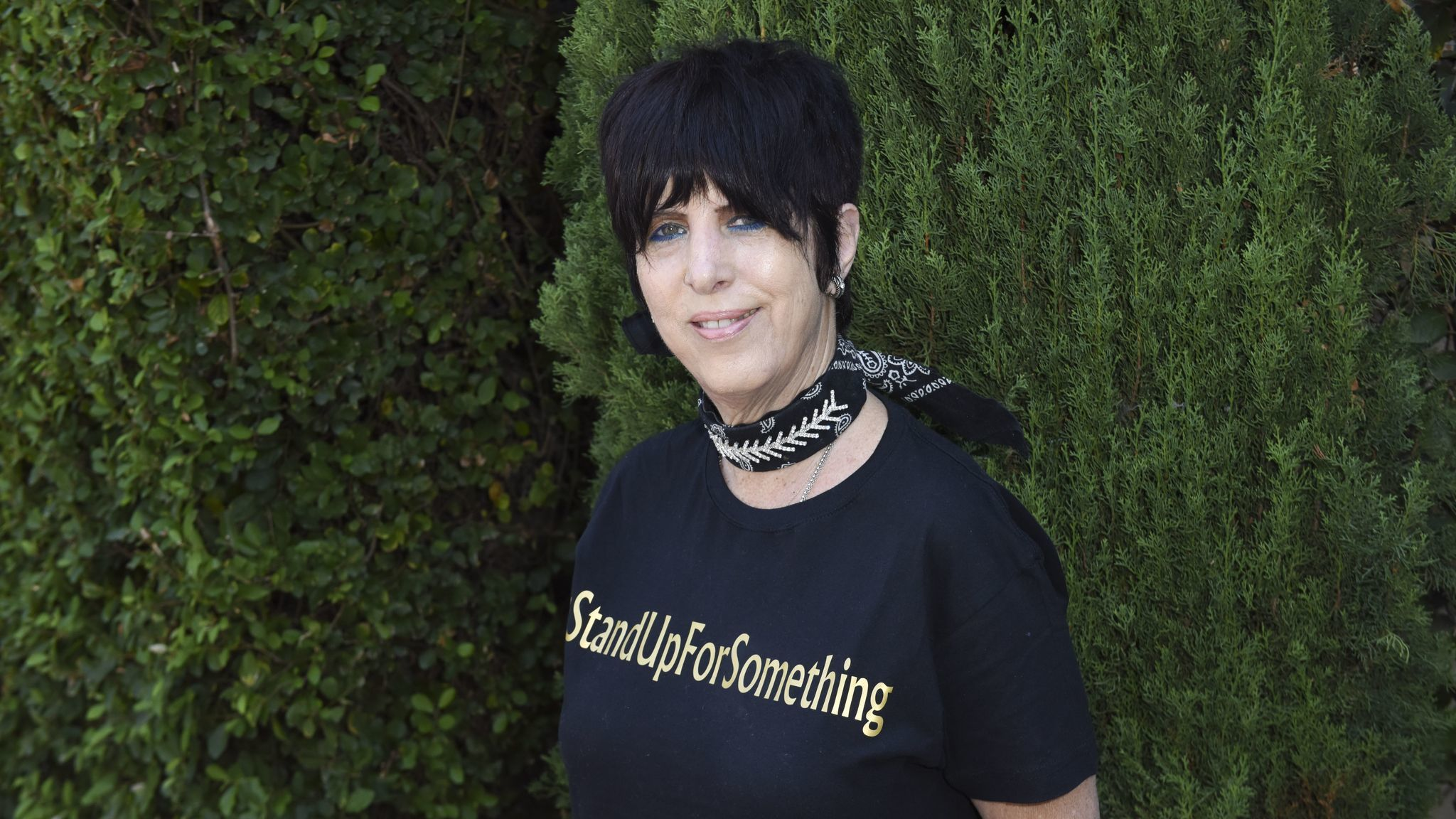 Songwriter Diane Warren attends the Rape Foundation's annual brunch in Beverly Hills.