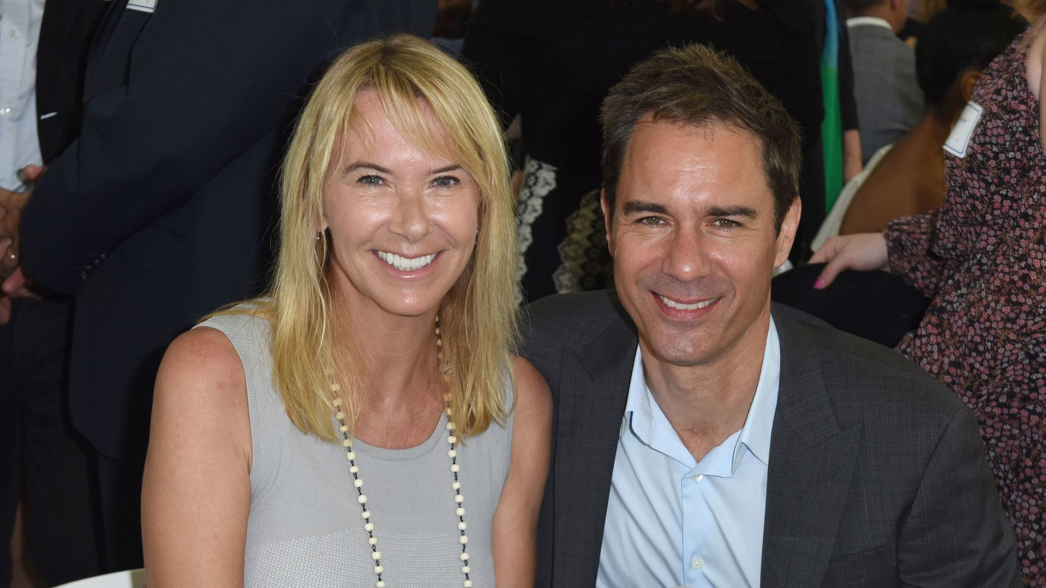 """Will & Grace"" star Eric McCormack and his wife, Janet Holden, attend the Rape Foundation's annual brunch Sunday."