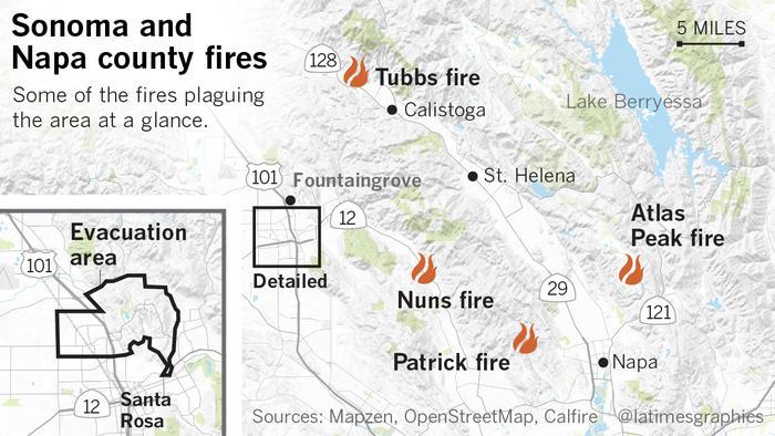 Napa/Sonoma County fires