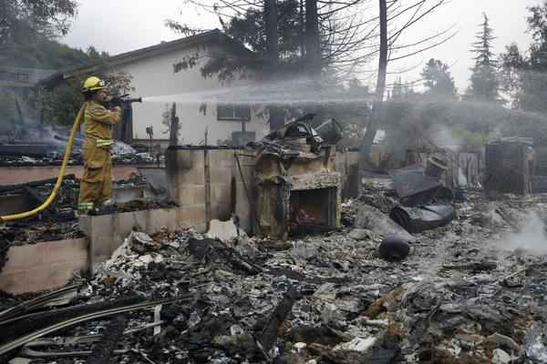 Son: Calif. Fire Victims Were Married 75 Years