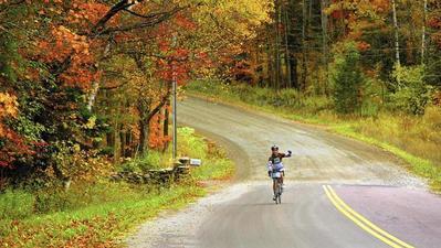 Breathtaking fall bike adventures